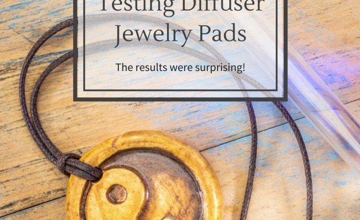 Diffuser Jewelry Pad Testing